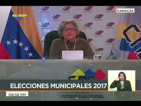 Tibisay Lucena: 4.800 candidatos se han inscrito para elecciones municipales