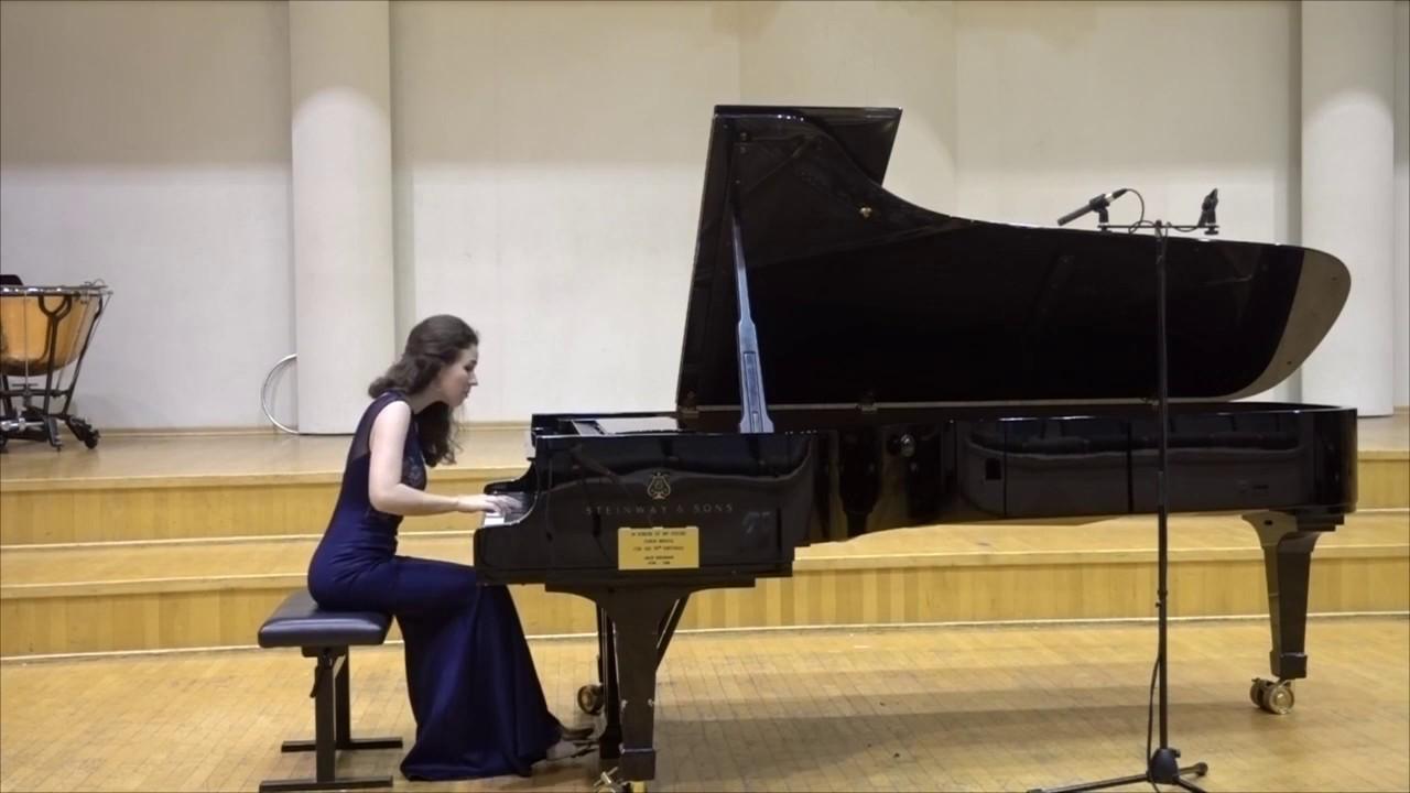Haydn - Sonata in Eb Hob.XVI:52 | Alexandra Segal