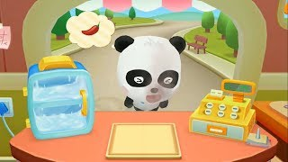 BabyBus: Musim Panas Bayi Panda: Bar Es Krim. Es Krimnya Pedas?! XD