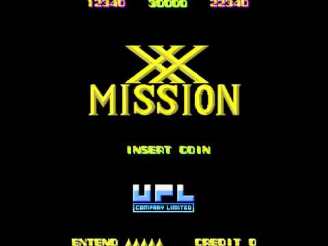 XX Mission (Arcade Music) Name Entry