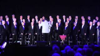 tredegar orpheus male voice choir sings selection from les miserable ebbw vale 18th aprl 2015