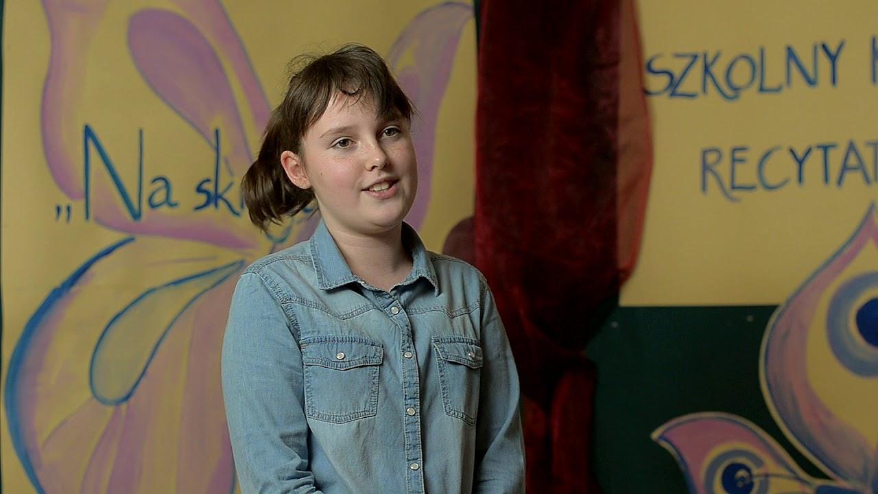Adrianna Brońka Recytuje Wiersz Dla Sepleniących Strasna Zaba