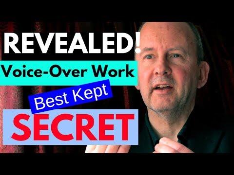 Voice Over Work: Best Kept Secret