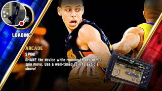 EA SPORTS NBA JAM - CLEVLAND #dribble, dunk, pass, block, shots all on fire