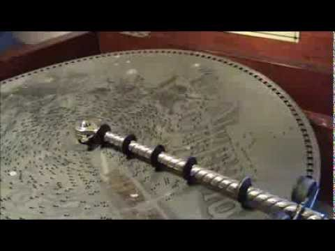 1898 Olympia Disc Music Box Playing My Old Kentucky Home