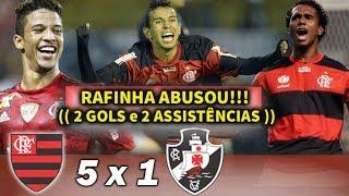 """O Dia que a Molecada do Flamengo Humilhou a do Vasco, e Goleou por 5 x 1 o """"Gigante da Colina"""""""