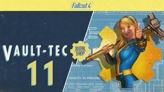 FALLOUT 4 (Vault-Tec Workshop) #11 : Dictator Frank wants LARGE corridors