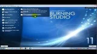 Ashampoo Burning Studio 11 [Download+Mini Tutorial] HD