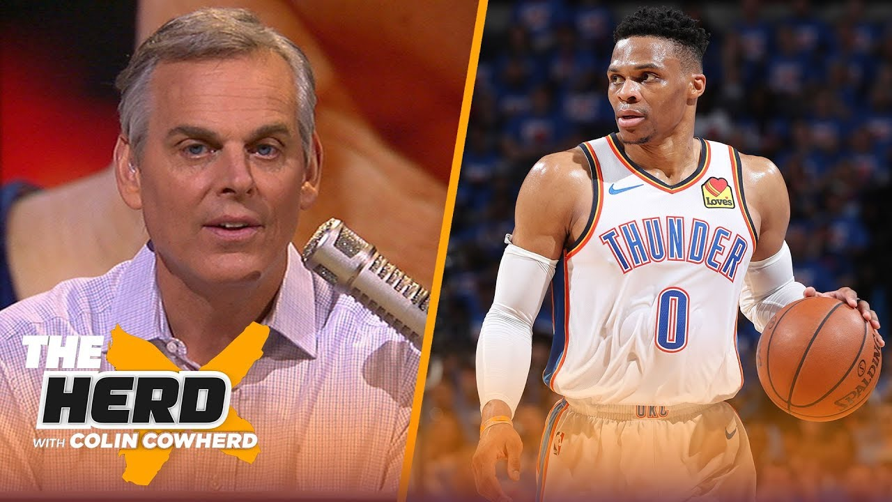 Russell Westbrook isn't built for the playoffs & his handling of media reflects it | NBA | THE HERD image
