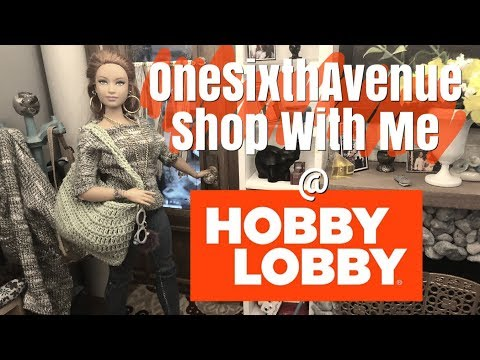 Shop with Me @ Hobby Lobby ~ Doll Crafts~ Fun Finds