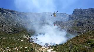 Table Mountain Fire Sunday 28 January