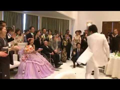 結婚式 フラッシュモブ 新郎謝辞