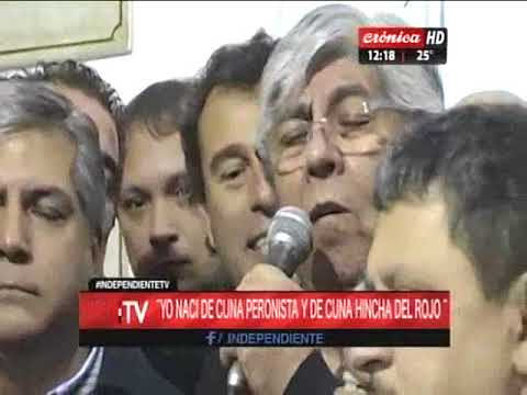 Independiente TV: Entrevista A Hugo Moyano (1de2)