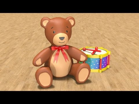 Thumbnail: Educational cartoons for children babies 1 year. Learn baby toys in English