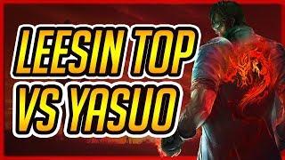 Kaze | LEESIN VS YASUO TOP CHẤP Q VẪN GÁNH TEAM | Liên Minh Huyền Thoại