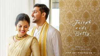 Kerala Wedding Photography || Betty weds Joseph || https://www.optimusimaging.in