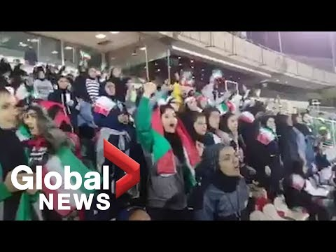 Iran temporarily lifts ban forbidding women from attending men's soccer match