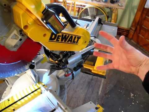 Dewalt Sliding miter saw after a year