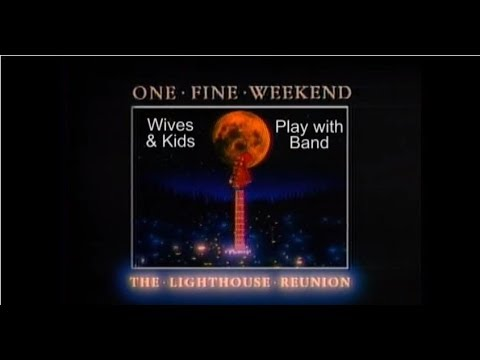 1982 LIGHTHOUSE REUNION - Ontario Place Forum - Wives & Kids Play With Band