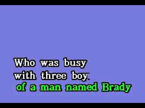 DK087 13   TV Themes   Brady Bunch, The [karaoke]