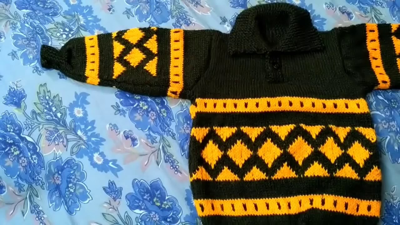 New Sweater Designs For Kids Or Baby In Hindi Handmade Woolen