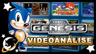 Sonic Ultimate Genesis Collection - MEGA DRIVE em 720p! | VIDEOANÁLISE