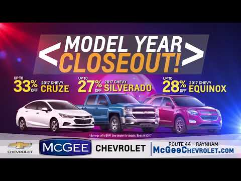 Model Year Closeout