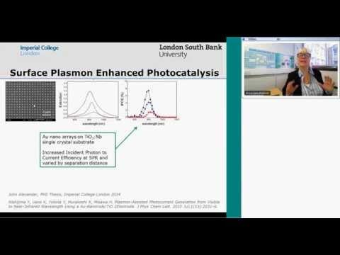 Surface Plasmon Enhancement on Semiconductors for Solar Energy Technologies  20141014 0809 1