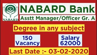 NABARD Assistant Manager RDBS Recruitment 2020 | NABARD Officer Gr.A Vacancy 2020| Employments Point