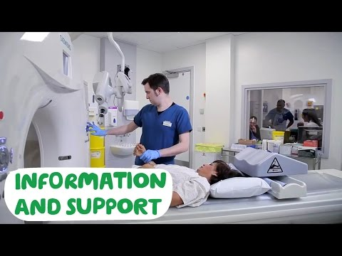 Having a CT scan - Macmillan Cancer Support