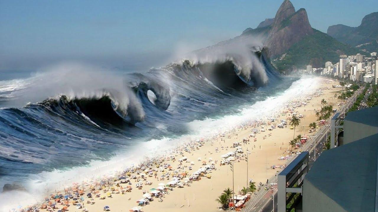 фото в японии цунами