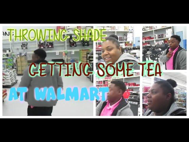 THROWING SHADE @WALMART |Lesbian Couple
