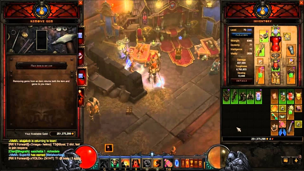 how to set skills in diablo 3