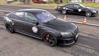 Audi RS6 C6 Sedan vs Mercedes-Benz CLS63 AMG