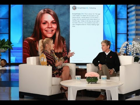 Busy Philipps and Ellen Open Up About Being Survivors of Sexual ...