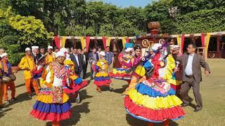 कुमाऊँ के छोलिया दल का विशेष नृत्य