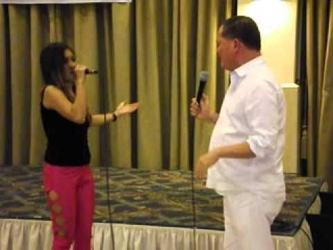 Bob Nalzaro sings for Amor 79th Bday pt2
