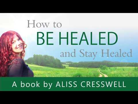 HOW TO BE HEALED: Broken back miracle with Aliss Cresswell
