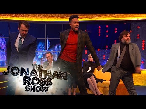 Jack Black and Ashley Banjo Floss | The Jonathan Ross Show