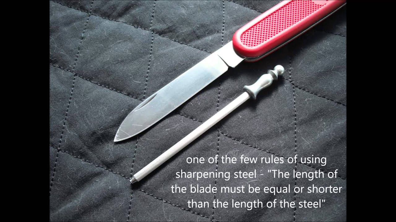 opinel sharpening honing steel slideshow preview part 1 of 2 - Sharpening Steel