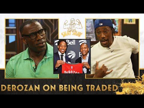 DeMar DeRozan hung up on Masai Ujiri when he got the call that he was being traded   Club Shay Shay
