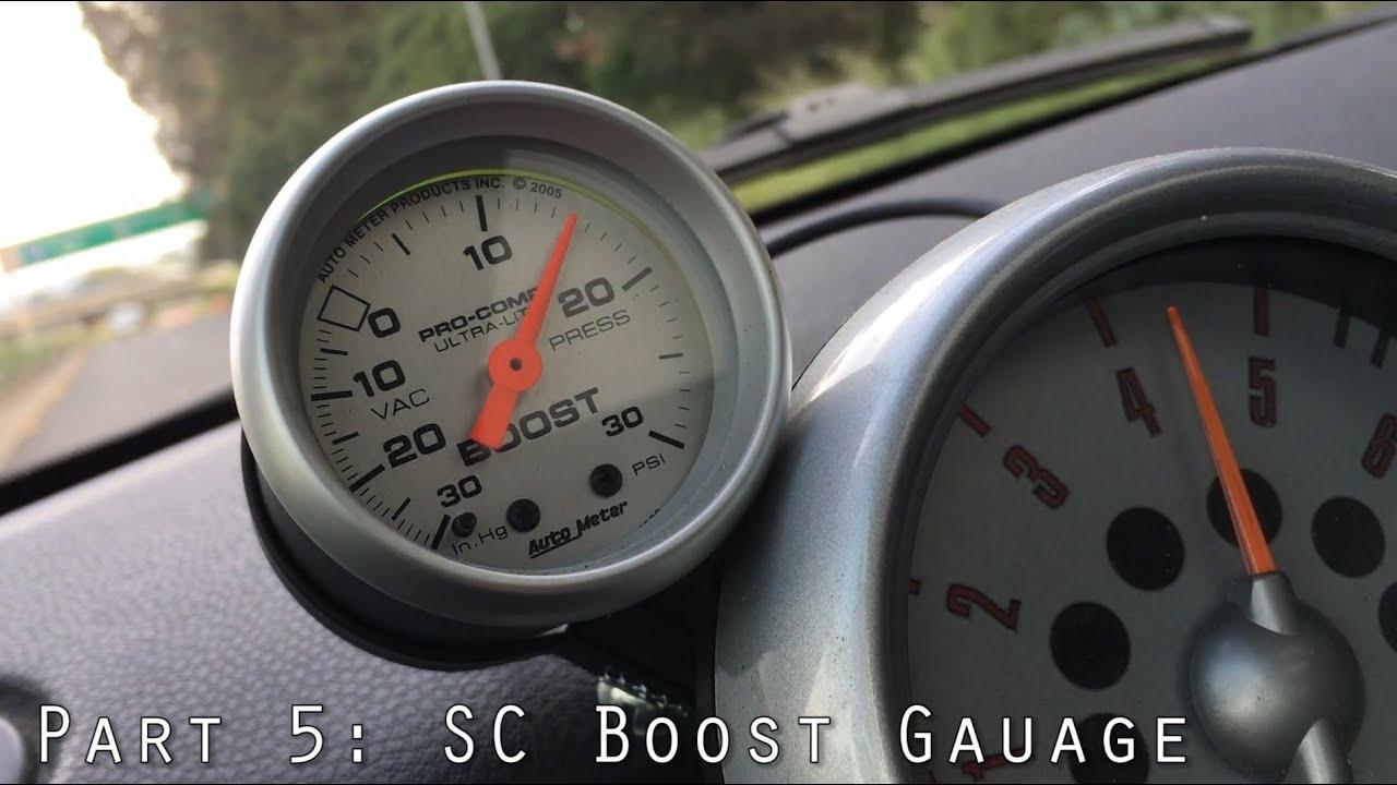 2005 mini cooper s r53 pt 5 boost gauge oil change transmission flush slave cylinder [ 1280 x 720 Pixel ]
