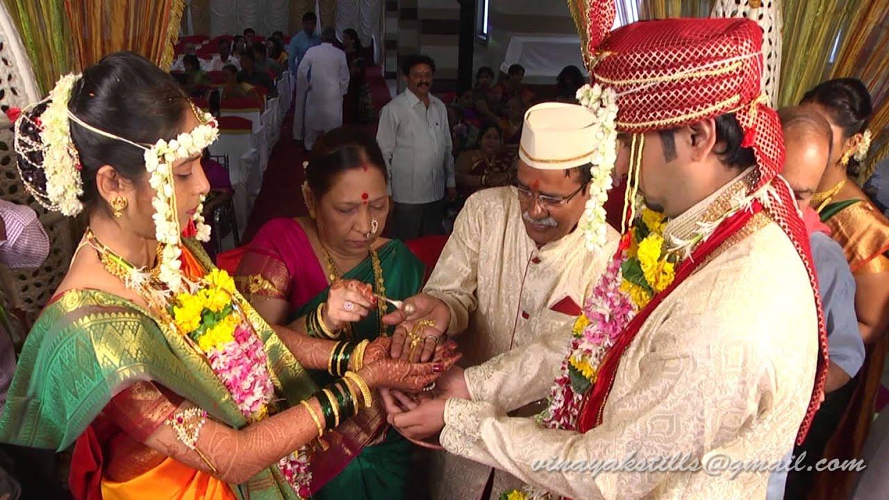 A Mumbai wedding with a whole lot of color! | Indian ...  |Hindu Marathi Wedding