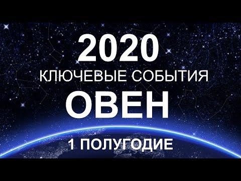 ♈ОВЕН. КЛЮЧЕВЫЕ СОБЫТИЯ. ПЕРВОЕ ПОЛУГОДИЕ. 2020. ТАРО-ПРОГНОЗ.