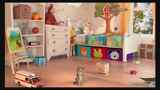 Learn Colors With My Little Kitten Pet Care Colours for Kids Children Toddlers Baby Play Videos