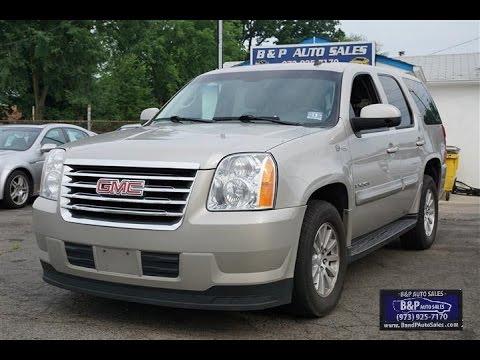 2009 Gmc Yukon Hybrid B P Auto S