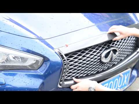 How To Remove Front Tow Cover Infiniti Q50 Doovi