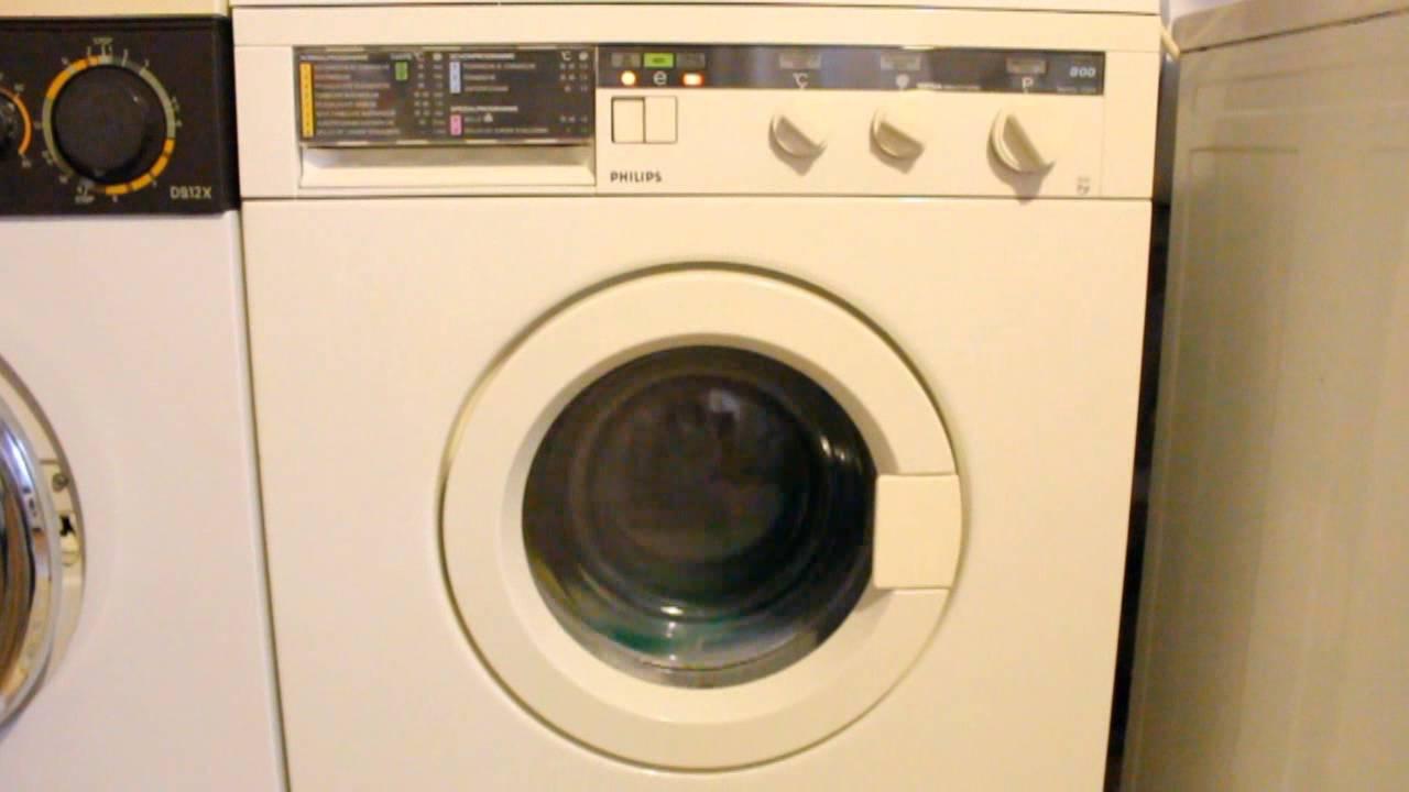 waschmaschine philips sesa awg 734 youtube. Black Bedroom Furniture Sets. Home Design Ideas