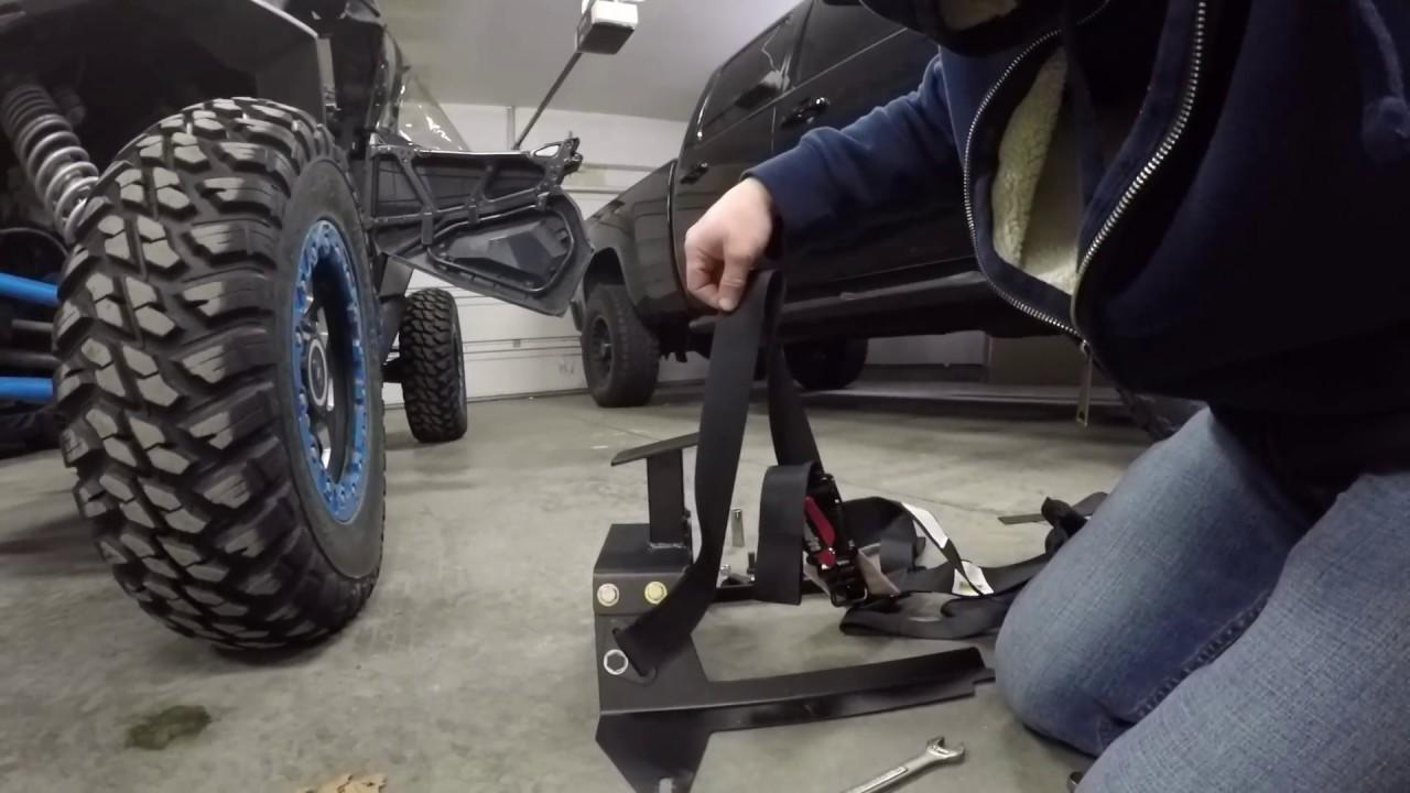 Polaris Rzr 1000 >> UTV giant bump seat rzr 1000 Install and Modification - YouTube