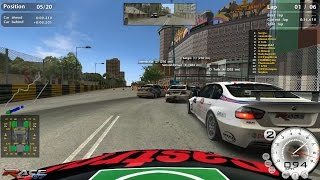 RACE07 WTCC Macau 100MBIT Racing League Online Gameplay